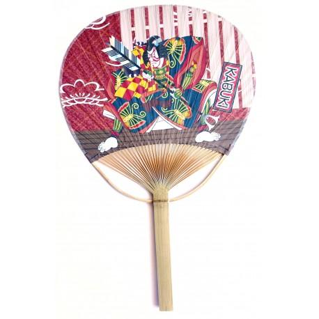 Wachlarz uchiwa Kabuki