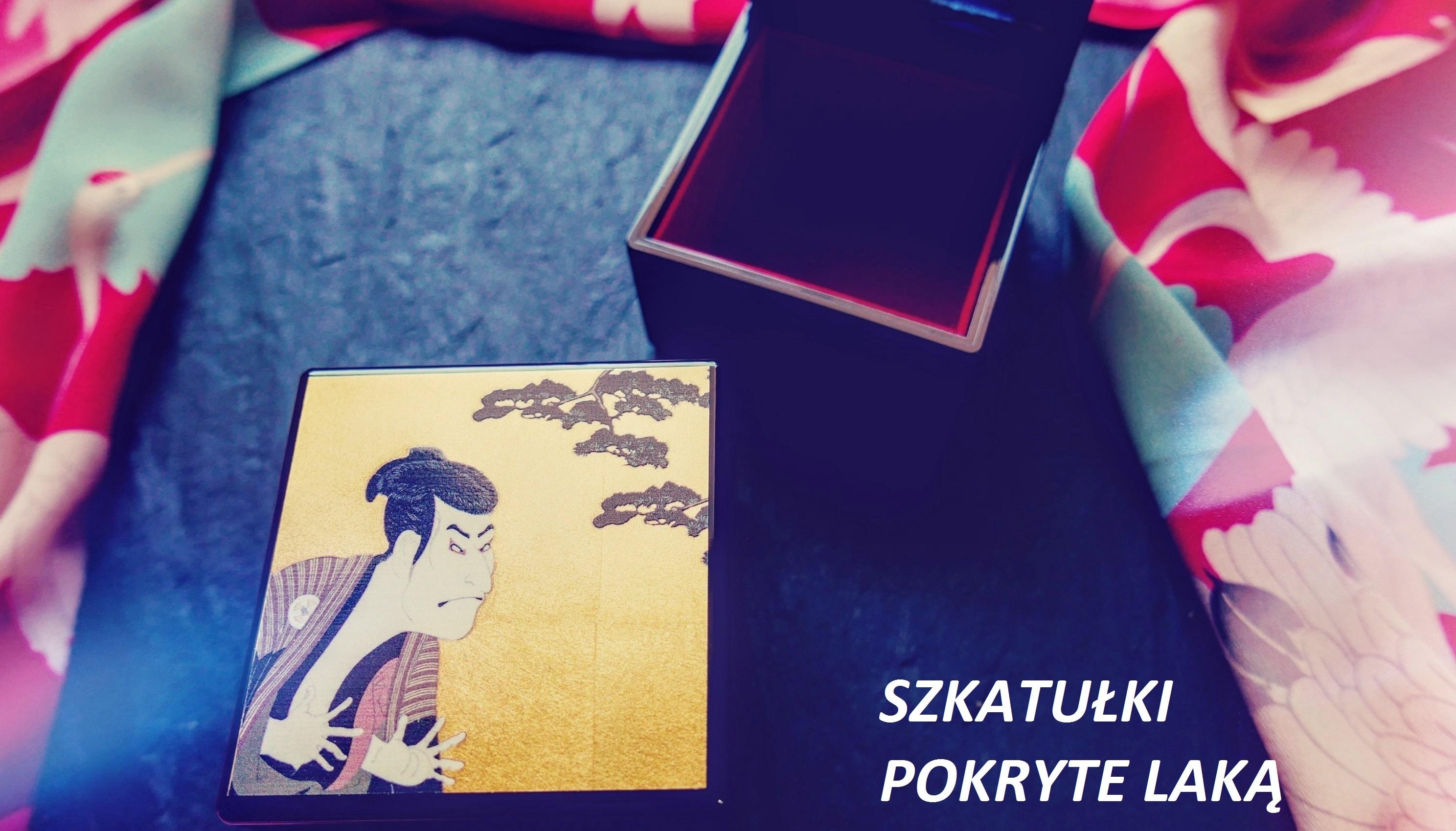 Szkatułki na biżuterię z Japonii